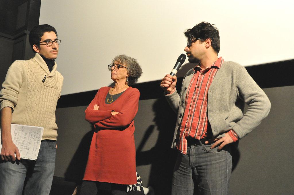 Samuel, Tahani, Francois
