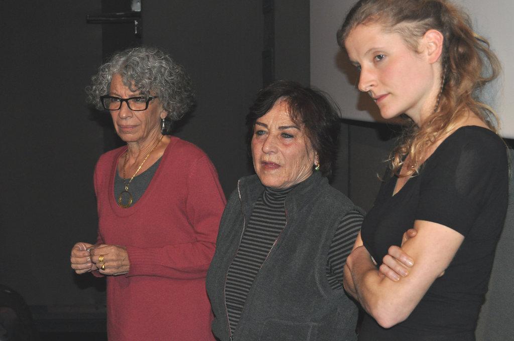 Tahani Rached, Lea Tsemel & Laure Fourest