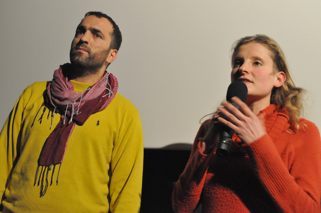 Khaled Jarrar & Laure Fourest